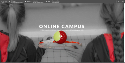 DTB Online Campus Webseite
