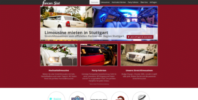 Funcars Sued Webseite