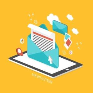 Beitragsbild E-Mail Newsletter erstellen