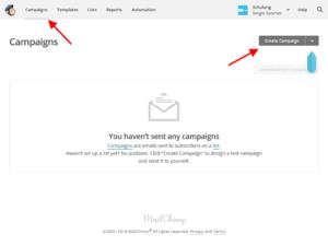 Mailchimp Kampagne