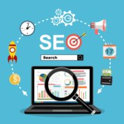 SEO Stockbild Illustration