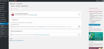 WordPress Plugin Yoast SEO Übersicht