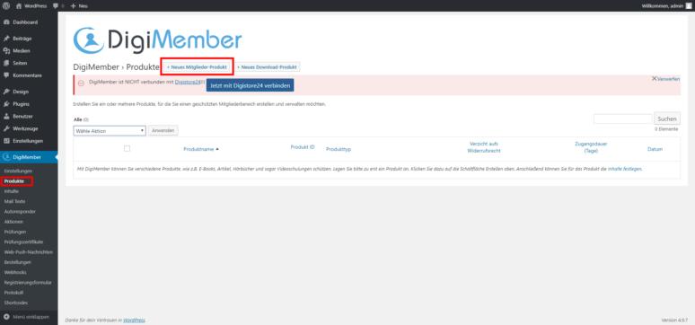 WordPress Mitgliederbereich erstellen 2.1